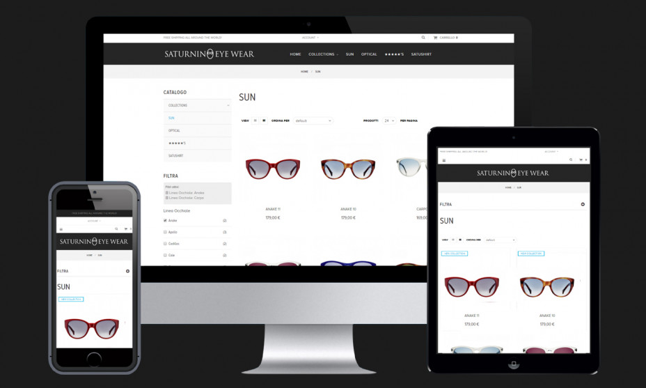 Un design responsive per un e-commerce compatibile su tutti i dispositivi mobili